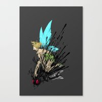 Dont Mess With Her! Canvas Print