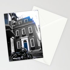 My visit, of Bricks & Blue Chrome Stationery Cards