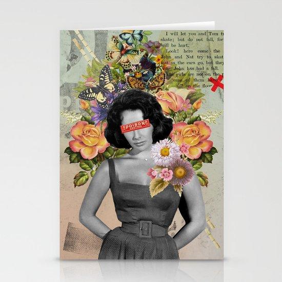 Public Figures - Liz Taylor Stationery Card