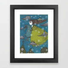 The Sea Voyage Framed Art Print