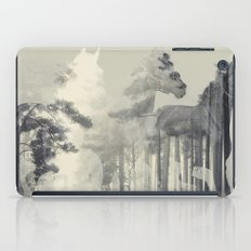 Like a Horse in the woods iPad Case