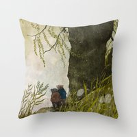 The Wind In The Willows Throw Pillow