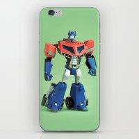 Optimus Prime (Animated) iPhone & iPod Skin