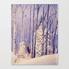Winter Solace painting Canvas Print