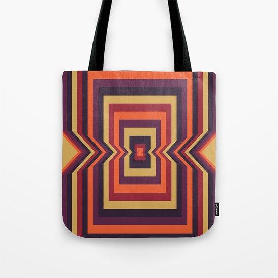Squared Vortex Tote Bag