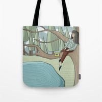 Reading Nook Tote Bag