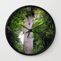The World's Oldest Wood, Ancient Kauri Wall Clock