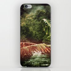 Let's Escape to Wilderness - Version II iPhone & iPod Skin