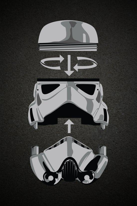 construct-a-trooper. Art Print