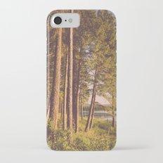 Retro Forest Slim Case iPhone 7