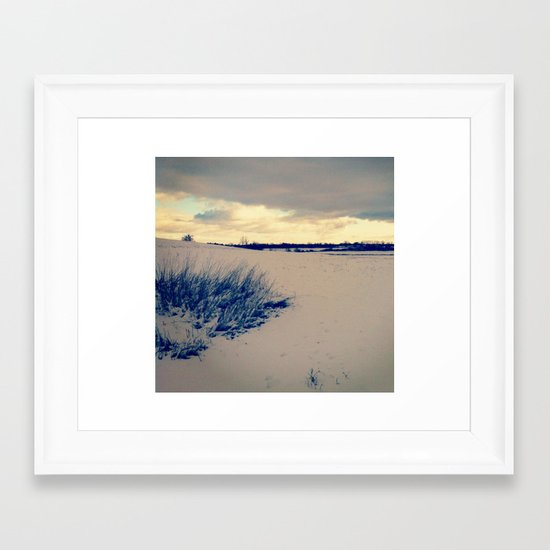 Wisconsin Winter Framed Art Print