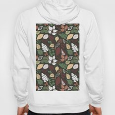 Seamless pattern with autumn leaf.  Hoody