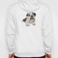 A Bulldog Puppy :: Brindle  Hoody