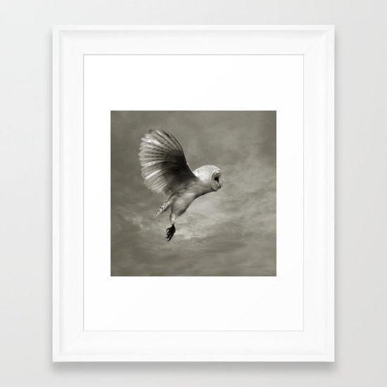 """Night Owl II"" Framed Art Print"
