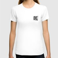 The Logo Womens Fitted Tee White SMALL