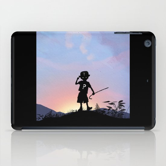 Riddler Kid iPad Case