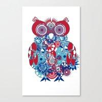 SPIRO OWL Canvas Print