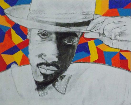 Andre (Benjamin)² Canvas Print