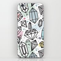 Gemstones iPhone & iPod Skin
