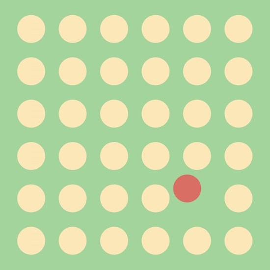 unanimity pattern Art Print