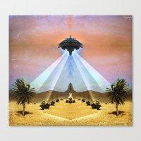 Astral Messenger Canvas Print