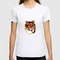 Rajah Womens Fitted Tee Ash Grey SMALL