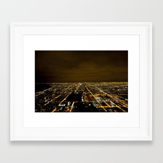 Skydeck Framed Art Print