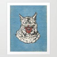 RONALD CATDONALD Art Print