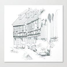 Stralsund Canvas Print