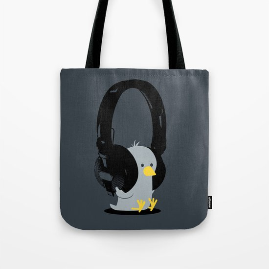 Le poussin mélomane Tote Bag