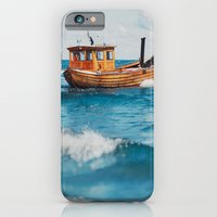 iPhone & iPod Case featuring The Boat. by Julia Dávila-Lampe