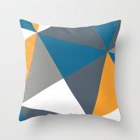 Vermillion Slate Throw Pillow