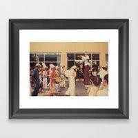 Carneval Framed Art Print