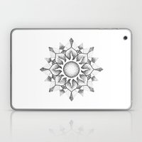 Dotwork mandala Laptop & iPad Skin