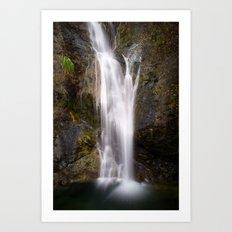 Coast Waterfall Art Print