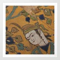leili and majnoon Art Print