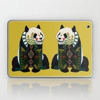 panda ochre Laptop & iPad Skin