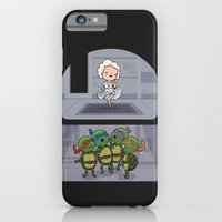 iPhone & iPod Case featuring Teenage mutant ninja perverts by Wawawiwa design