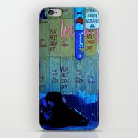 If I Could Shut Out The Real World iPhone & iPod Skin