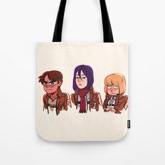 Shiganshina Tote Bag