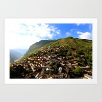 Baoshan Stone Village In… Art Print