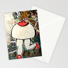 Walking breast Stationery Cards