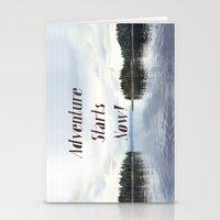 Adventure Starts Now! Alaska Stationery Cards