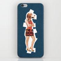 Dog Person iPhone & iPod Skin