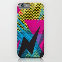 iPhone & iPod Case featuring Shape Shock by Segments Design