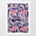 MARBELLOUS BUTTERFLIES Art Print