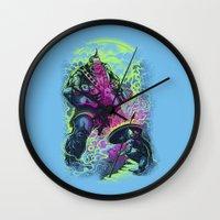 Magnysseus Vs The Cyclop… Wall Clock