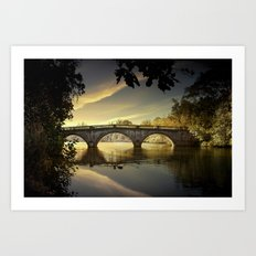 Bridge of Dreams Art Print
