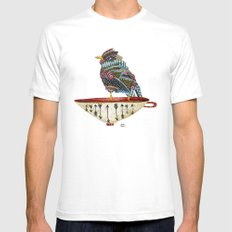Spirit Bird Mens Fitted Tee White SMALL