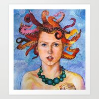 Alter-Ego Self Portrait … Art Print